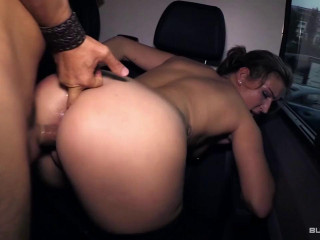German honey Arianna Love gets her fuckbox and bum torn up hard-core on a bus