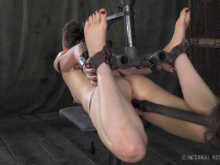 IR - Apr 18, 2014 - Stuck in Restrain bondage - Hazel Hypnotic - HD