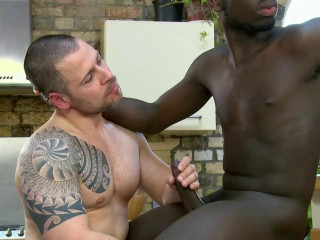 Russ Magnus & Drew Kingston In Hard Interracial Fuck