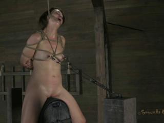 Girl next door, bound on the worlds most powerful orgasm