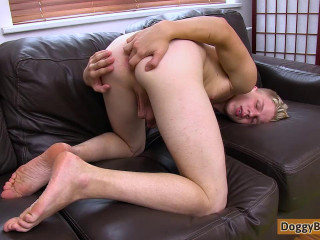 DoggyBoys - Blond Twink Boy's First Time On Video (Bert Meyer)