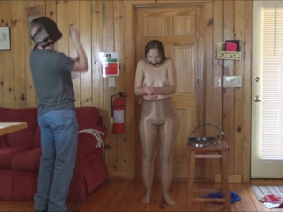 Ultra Girl Becomes a Bondage and Chasity Slave