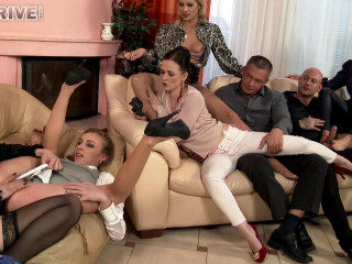 A Lesbo Show With A Side Of Foot Passion! Whatever Keeps The Party Moving!
