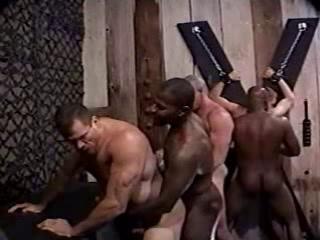 Bi-racial Gang Bondage & discipline Pound