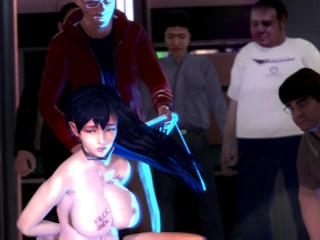 Bad Girl In Hot Orgy