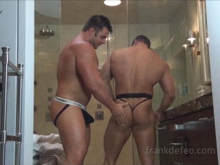 Double Muscle Bathroom - Frank Defeo and Mike Buffalari