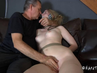 Tight bondage, torture and strappado for beautiful model part 1