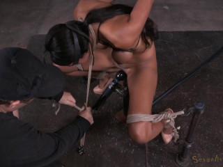 Sadie Santana Stringently Restrained In Violent Restrain bondage