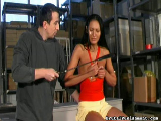When a 2nd female joins them, he tries to instruct her how to discipline