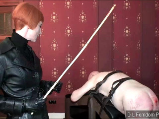 Caned for a Confession - Domina Liza - HD 720p
