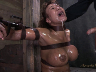 Milf-Tastic Ava Devine Sybian Orgasmed Out Of Her Mind While Brutally Throat Fucked!