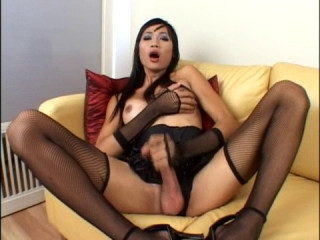 Asian Transsexual Spunk