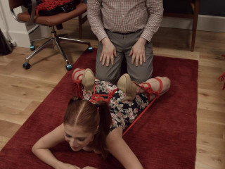 Assulum - Penny Pax - A quick ass-up, face-down tie with Penny Pax