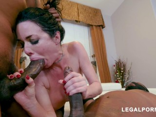 Hot Milf Veronica Avluv Destroyed By Massive Black Dicks
