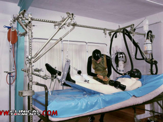 A special hospital bed