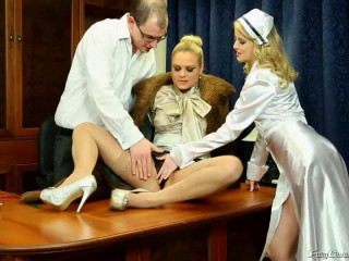 Piss Consultation With Doc And Nurse