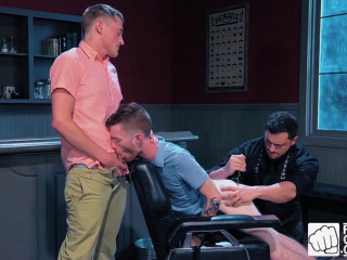 Fisty's Barber Shop, Scene 1