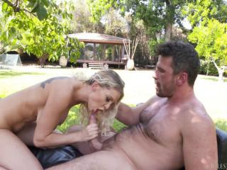 Kenzie Taylor Big Tit Blonde Outdoor Anal Fun In The Sun  FullHD 1080p
