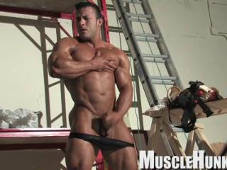 MuscleHunks Anton Buttone - Woodworker