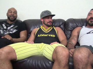 Aarin Asker, Alessio Romero and Ray Diesel