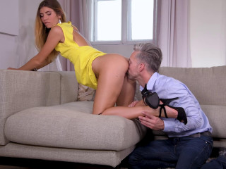 Candice Demellza - Sweet Teen Toe Sucking