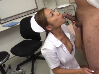 Good abilities of a big-breasted nurse