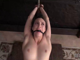 Super bondage, slapping and torture for youthful model part 2
