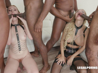 Double Anal Gangbang With Fisting For Linda Sweet & Florane Russell