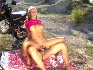 Hot biker TuttiFrutti Baby