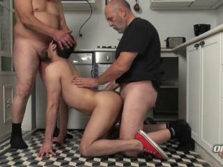 Hot Threesome Joaquin, Kenso & Luiggi (720p)