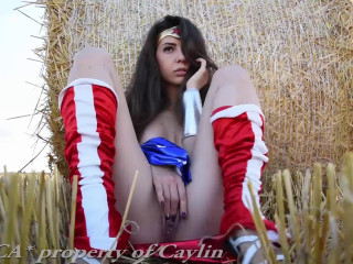 Caylin - Wonder Woman Hayfield