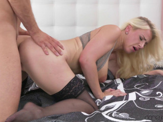 Kristof Cale, Nathaly Cherie - Passionate couple sex and creampie FullHD 1080p