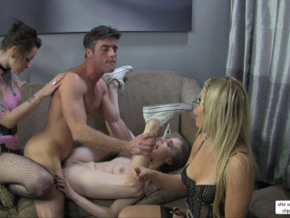 Anya Olsen, Ashley Fires, Lux Orchid - Finest Break Up Therapy