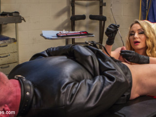 Chronic Masturbator D. Seeks Sick & Twisted Therapy From Aiden Starr!!