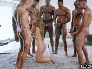 Lena Paul - Anything For Daddy  Lena takes on 7 Guys