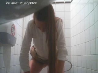 Hidden Camera In The Student Toilet - Vol. 3 - HD 720p