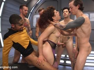 Star Trek: The Next Penetration - First Gangbang & Double Penetration!