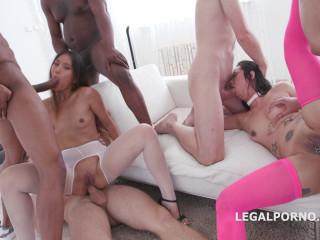 Final gangbang penalty for asian sluts