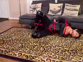 Sahrye securely bound and gagged