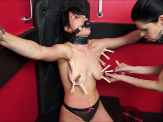 Slavegirl Demi & Domina Karina Enslaved Pet Demi