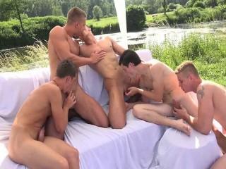 Raw Outdoor Orgies