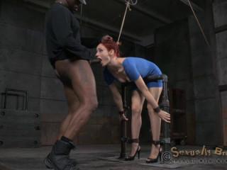 Redheaded Sex Siren Violet Monroe Trained