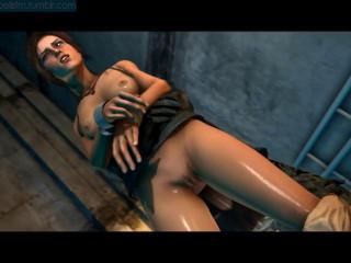 Tomb Raider Lara Croft Kidnapped Compliation