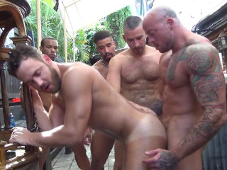 Logan Moore Gets Group Pounded Part 2 (720p)