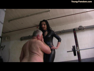 Young-femdom - Electric Torture from Luci