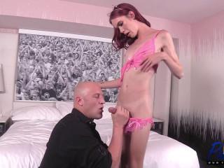 Big Dick Escort Shows Off Her Goods