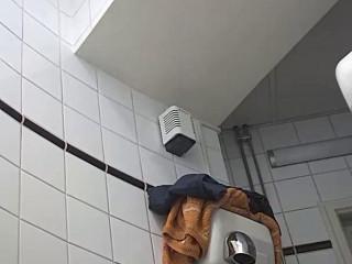Hidden camera in the student toilet Part 8 (2018)