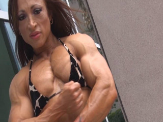 Female Muscle - Edging Challenge Series By FFF - Chest Mania