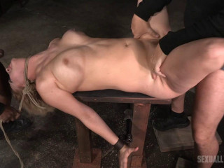 Banging blonde Cherry Torn sybian blasted