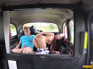 Schoolgirl has cute booty and humid fuckbox